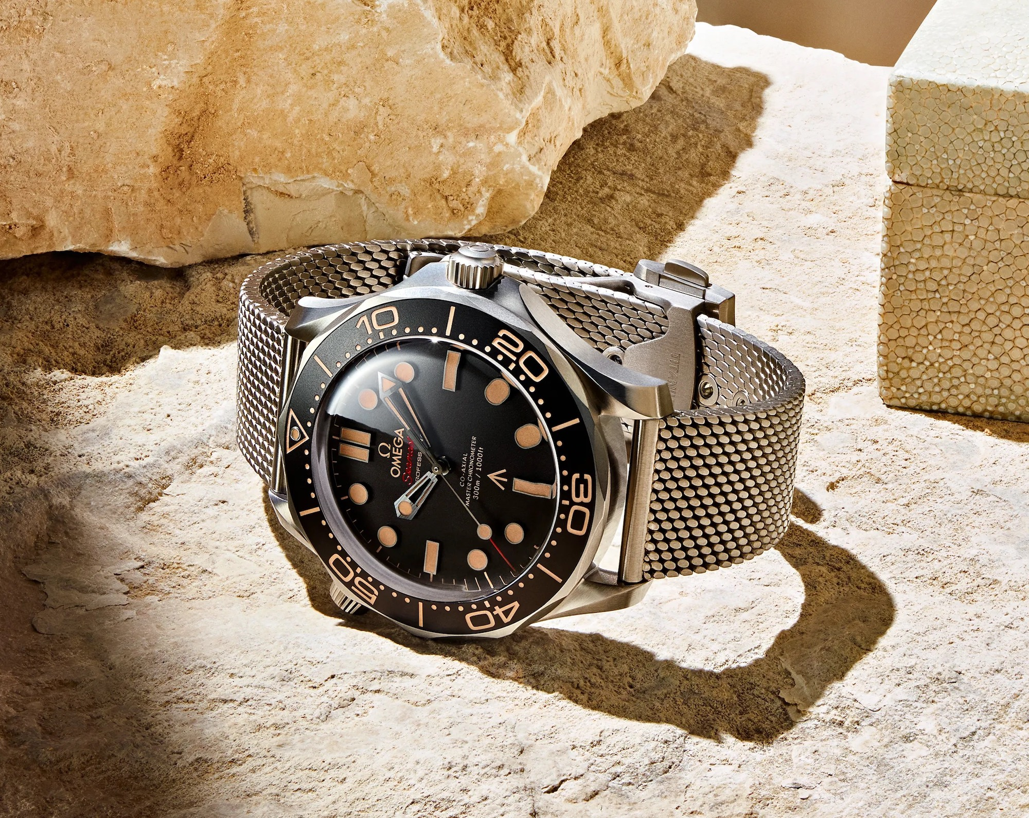 omega seamaster diver 300m co-axial master chronometer 42mm titanium 007 Edition 210.90.42.20.01.001 No Time To Die 2021 James Bond