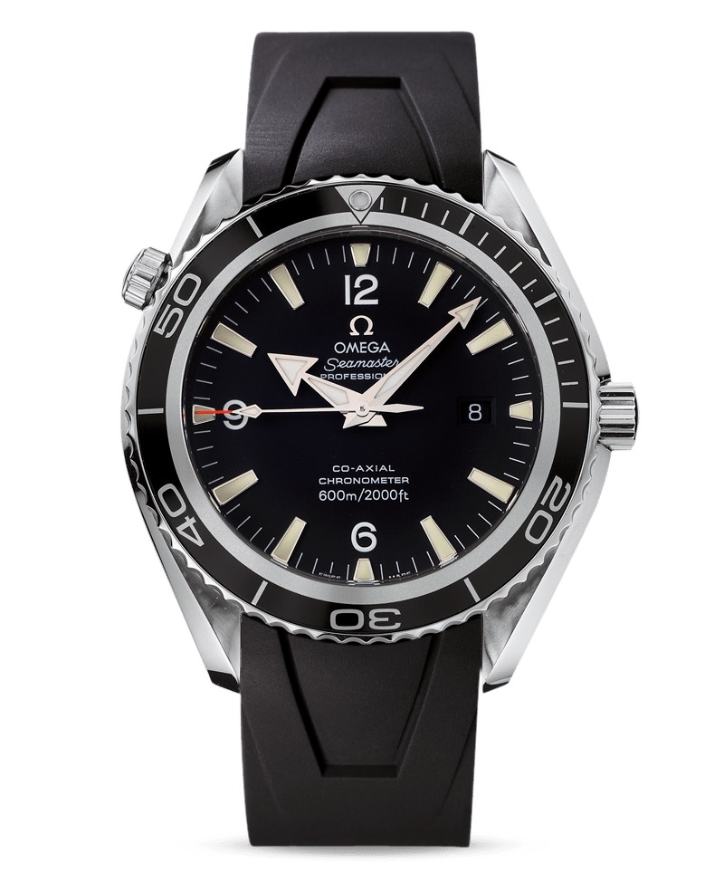 2006 - Omega Seamaster Planet Ocean 600m 45.5mm Co-Axial Chronometer 2900.50.91 James Bond Casino Royale 2006 ID Card
